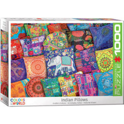 Eurographics Eurographic Puzzle 1000pc Indian Pillows