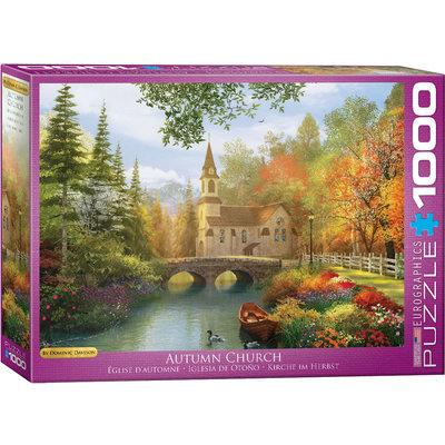 Eurographics Eurographic Puzzle 1000pc Autumn Church