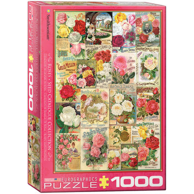 Eurographics Eurographic Puzzle 1000pc Roses Seed Catalogue