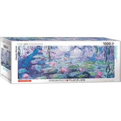 Eurographics Eurographic Puzzle 1000pc Panoramic Waterlilies