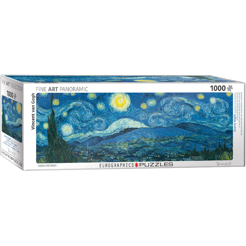 Eurographics Eurographic Puzzle 1000pc Panoramic Starry Night