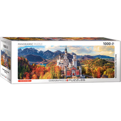 Eurographics Eurographic Puzzle 1000pc Panoramic Neuschwanstein Castle