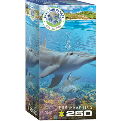 Eurographics Eurographic Puzzle 250pc Dolphins