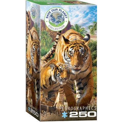 Eurographics Eurographic Puzzle 250pc Tigers