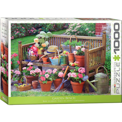 Eurographics Eurographic Puzzle 1000pc Garden Bench