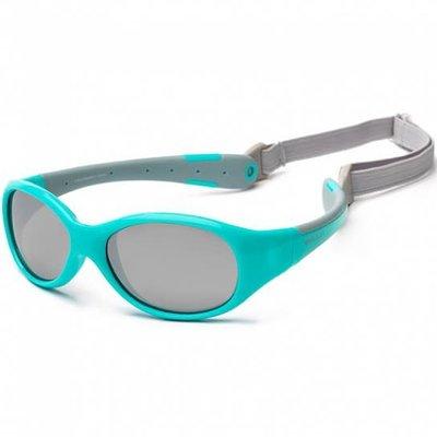 Koolsun Flex Sunglasses 0+ Aqua Grey