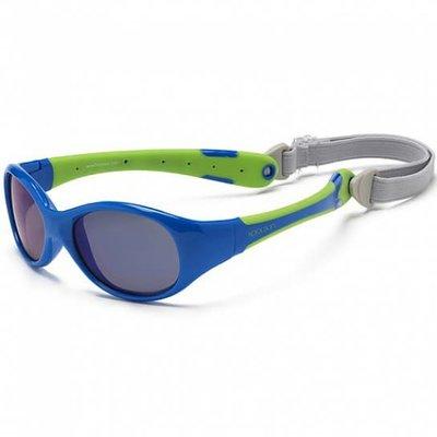 Koolsun Flex Sunglasses 0+ Blue Lime
