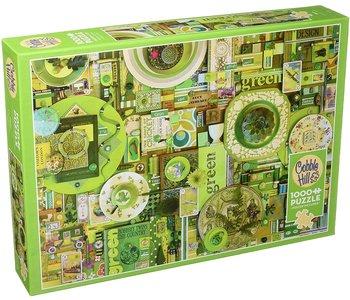 Cobble Hill Puzzle 1000pc Green