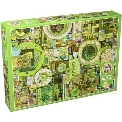 Cobble Hill Puzzle 1000pc Green