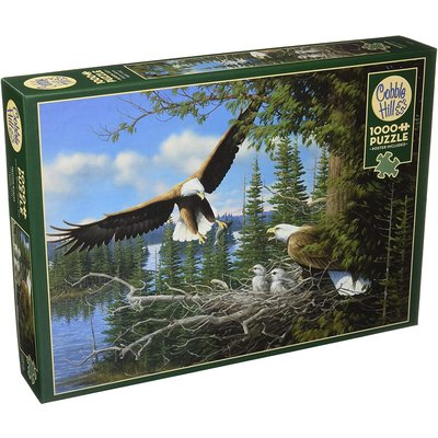 Cobble Hill Puzzles Cobble Hill  Puzzle 1000pc Nesting Eagles