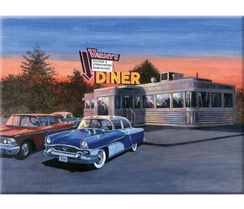 Paint by Number Large 50's Diner