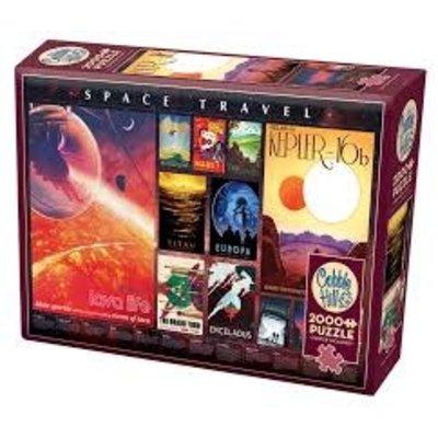 Cobble Hill Puzzles Cobble Hill Puzzle 2000pc Space Travel Posters