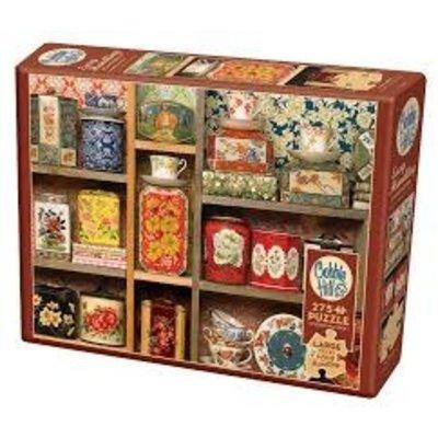 Cobble Hill Puzzles Cobble Hill Puzzle 275pc Tea Caddies
