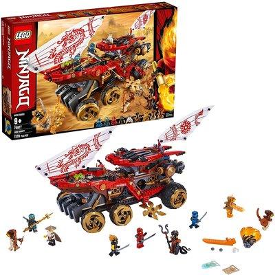 Lego Lego Ninjago Land Bounty