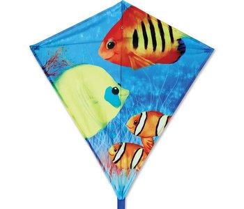 "Premier Kite 30"" Diamond Fishy Fishies"