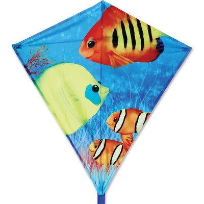 "Premier Kite 30"" Diamond Fishy Fishies"