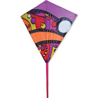 "Premier Kite 30"" Diamond Warm Orbit"