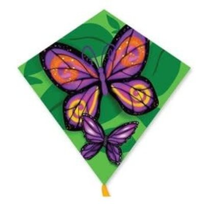 "Bold Innovations Kite 25"" Diamond Butterflies"