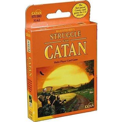 Catan Game Struggle for Catan