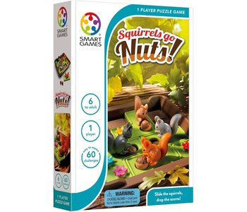Smart Game Squirells Go Nuts