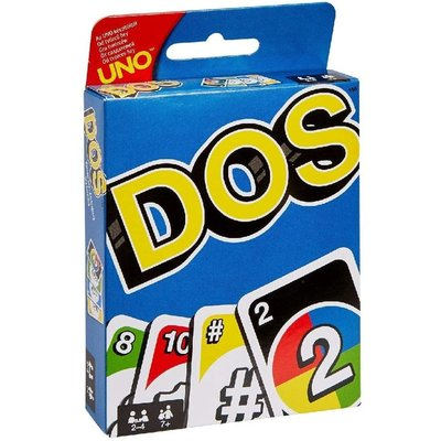Mattel Card Game Dos