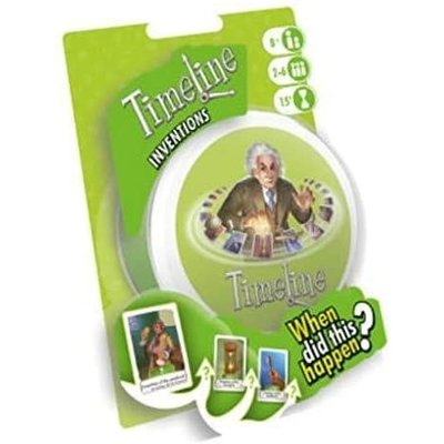Asmodee Timeline Game Inventions