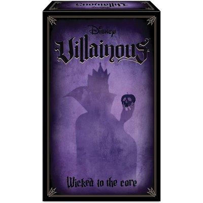 Ravensburger Disney's Villainous Game Exp Wicked to the Core
