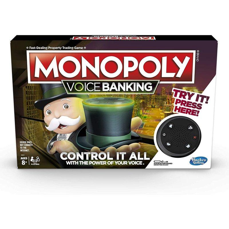 Hasbro Hasbro Game Monopoly Voice Banking