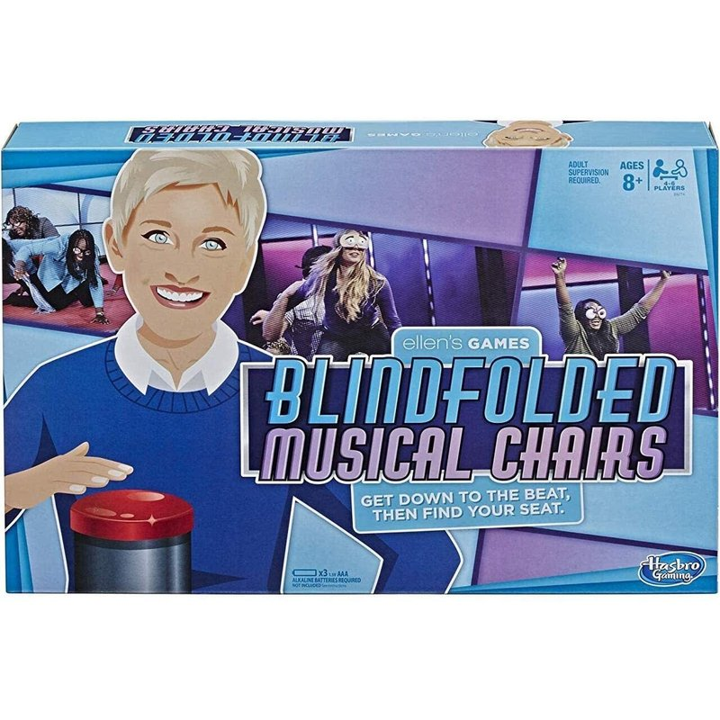 Hasbro Ellen Game Blindfolded Musical Chairs