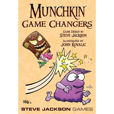 Munchkin Game Expansion Game Changers