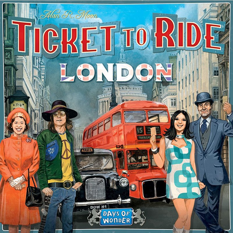 Days of Wonder Ticket to Ride Game: London