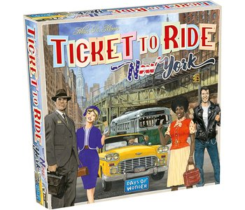Ticket to Ride Game: New York