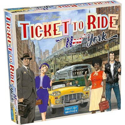 Days of Wonder Ticket to Ride Game: New York
