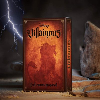 Ravensburger Disney's Villainous Game Exp Evil Comes Prepared