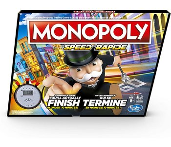 Hasbro Game Monopoly Speed