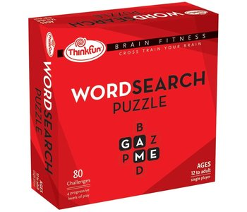 Thinkfun Game Brain Fitness Word Search Puzzle