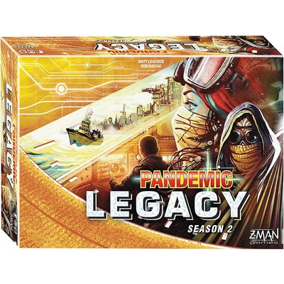 Z-Man Game Pandemic Legacy Yellow