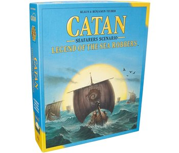 Catan Game Legend of The Sea Robbers