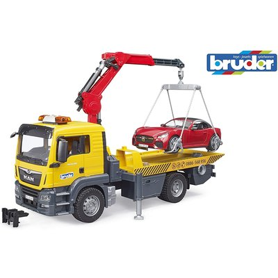 Bruder Bruder MAN Tow Truck with Roadster
