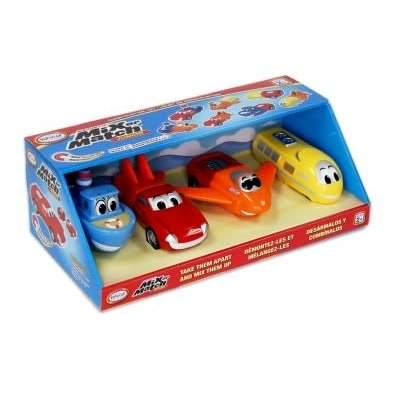 Popular Playthings Mix & Match Vehicles Junior