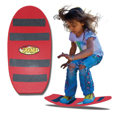 Spooner Board Freestyle Red