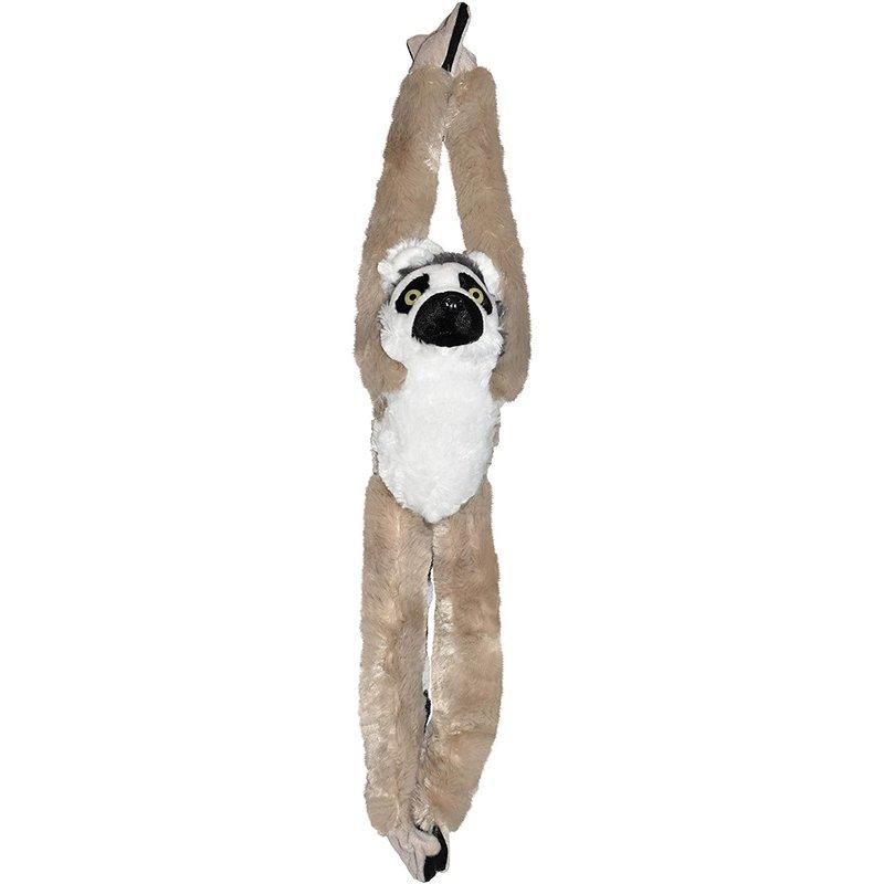 Wild Republic Wild Republic Hanging Monkey: Ring Tailed Lemur