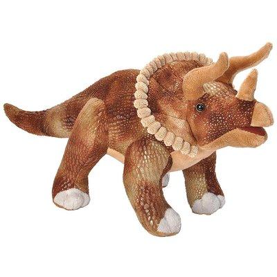 "Wild Republic Dino Realistic 17"" Triceratops"