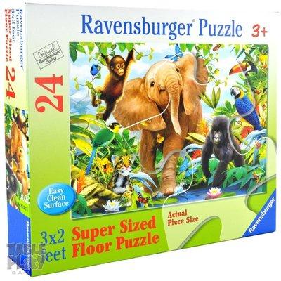 Ravensburger Ravensburger Floor Puzzle 24pc Jungle Juniors