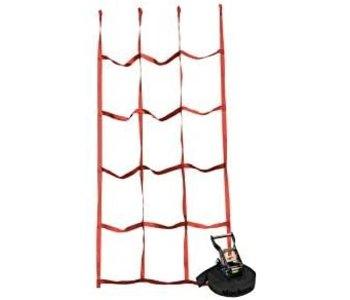 Slackers Ninja Cargo Net Red
