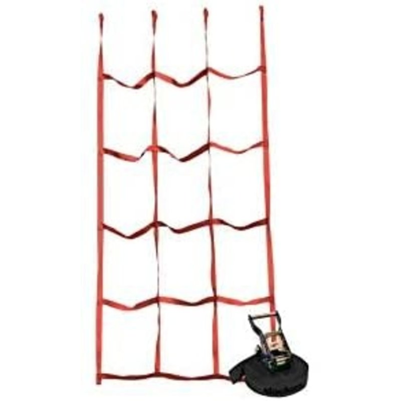 Slackers Slackers Ninja Cargo Net Red