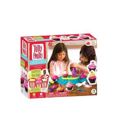 Tutti Fruitti Modelling Dough Cupcakes Set