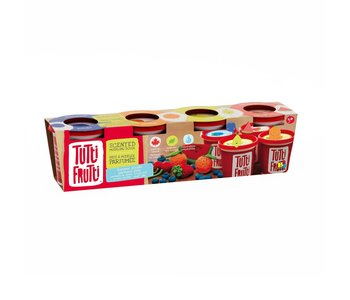 Tutti Frutti Modelling Dough 4 pack Summer Scents