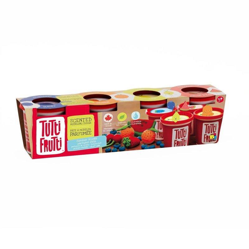 Tutti Frutti Tutti Frutti Modelling Dough 4 pack Summer Scents