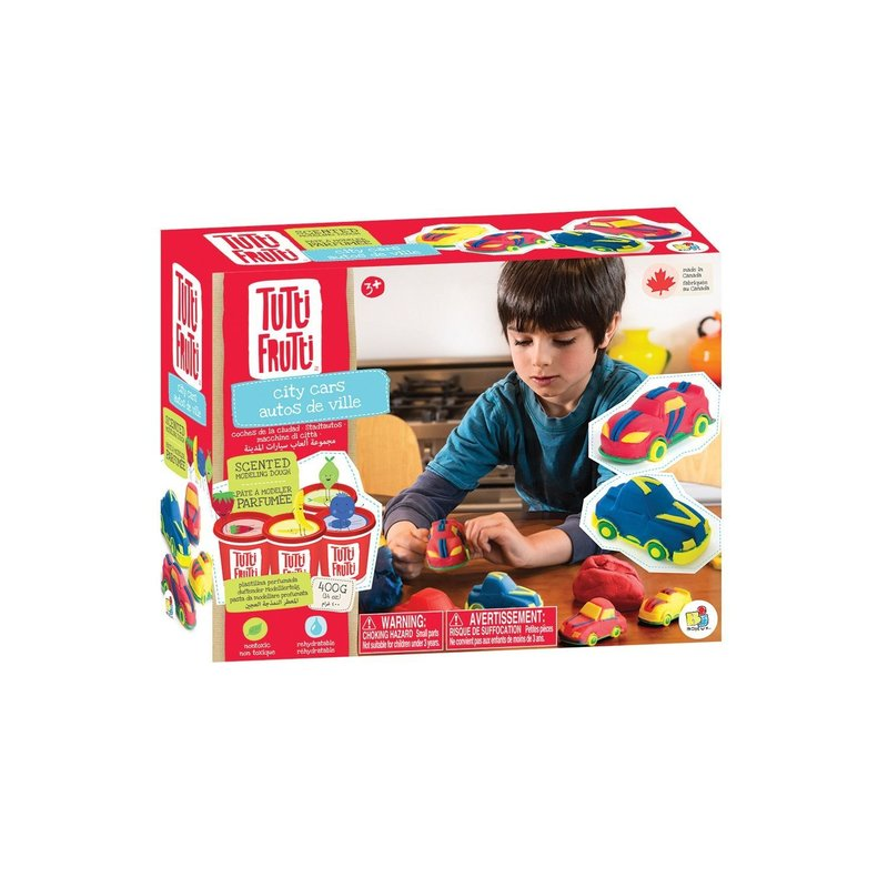 Tutti Frutti Tutti Frutti  Modelling Dough City Cars Set